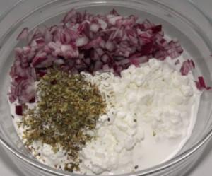 twarożkowy dip do placków ziemniaczanych