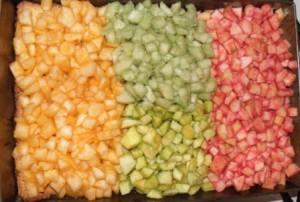 ciasto 3 kolory