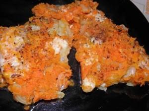 ryba z marchewka