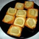 Ciasteczka francuskie z ananasem