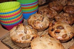 muffinki keks