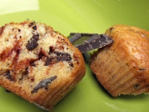 muffinki czekoladowe jasne