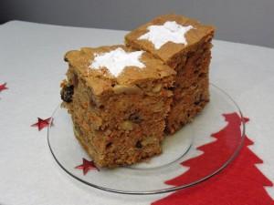 ciasto piernikowe z marchewką