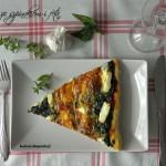 Pizza ze szpinakiem i fetą