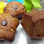 Muffinki z czekoladą i skórką pomarańczową