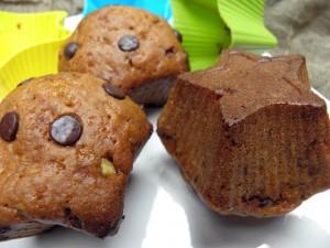 muffinki z czekoladą i skorka pomarańczowa