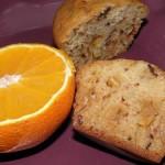 Muffinki pomarańczowe z czekoladą