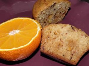 muffinki pomarańczowe z czekoladą 1_m