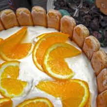 tort jablkowo pomaranczowy bez pieczenia