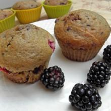 muffinki z jezynami