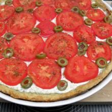 tarta z feta i pomidorami