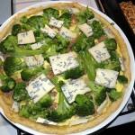 Tarta z tuńczykiem i brokułami