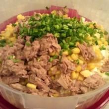 pyszna salatka z tunczykiem