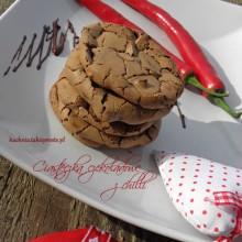 czekoladowe ciasteczka z chilli