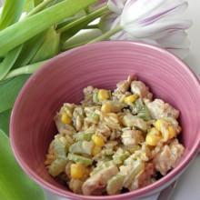 Salatka z selera naciowego i indyka