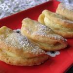 Ciasteczka serowe z jabłkami