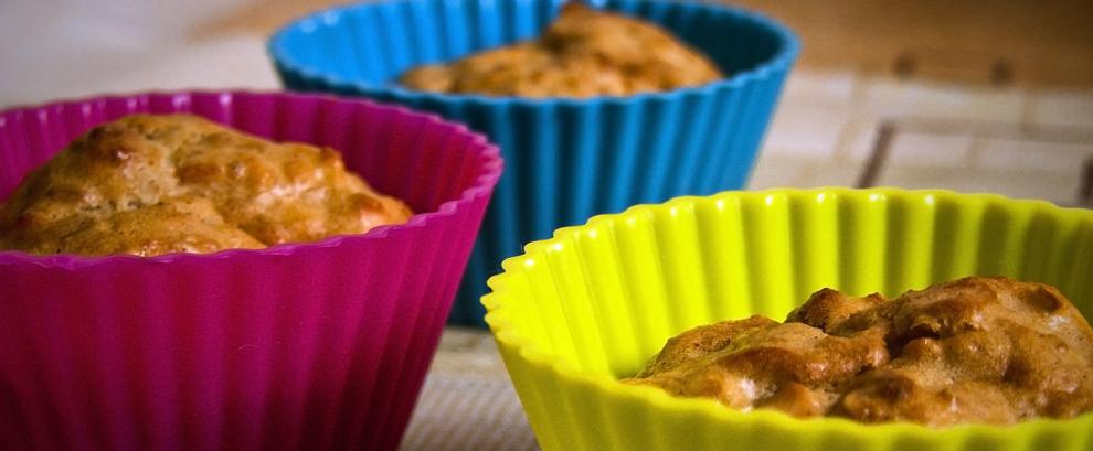 Muffinki z jabłkami