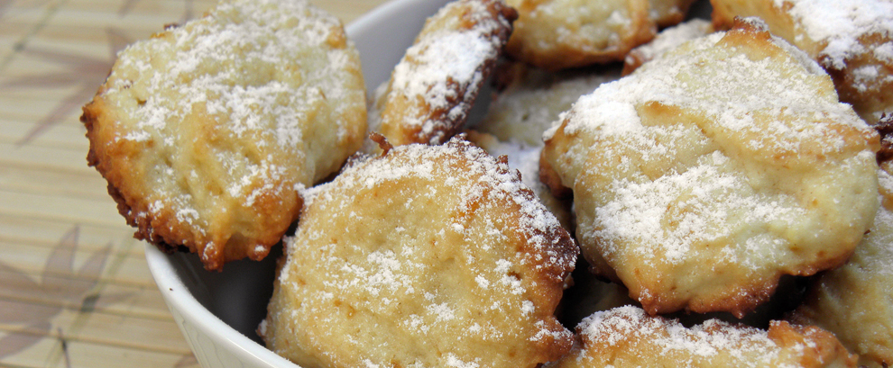 Cytrynowe ciasteczka z ricottą