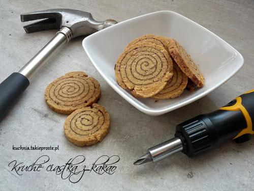 kruche ciasteczka z kakao