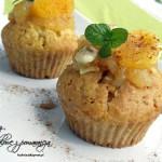 Muffinki migdałowe z pomarańczą