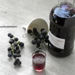 Nalewka z ciemnych winogron - część 3