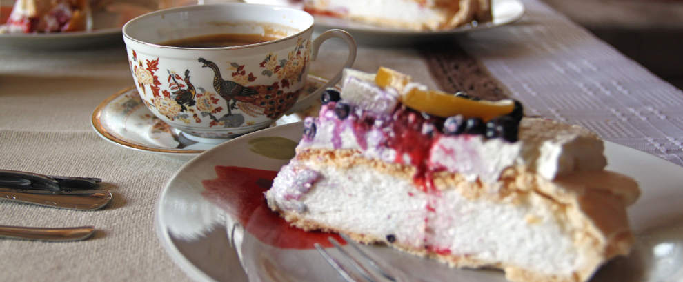 Pavlova - tort bezowy