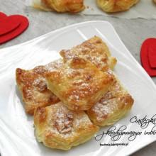 francuskie ciasteczka z kandyzowanym imbirem