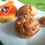 Muffinki z papają