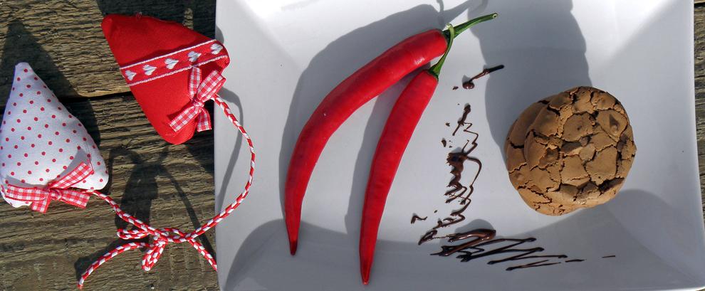 Ciasteczka czekoladowe z chilli